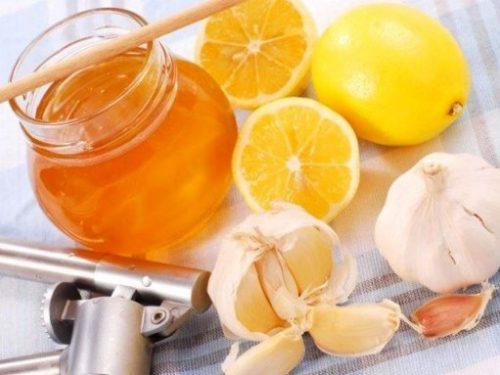 лимон чеснок иммунитет