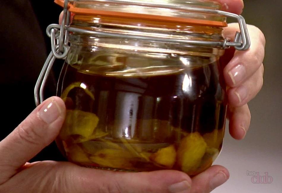 Настойка с чеснока и лимона